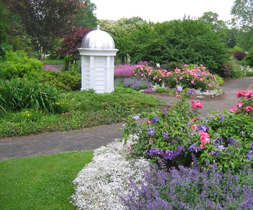 Peace Garden at the Buffalo and Erie County Botanical Garden